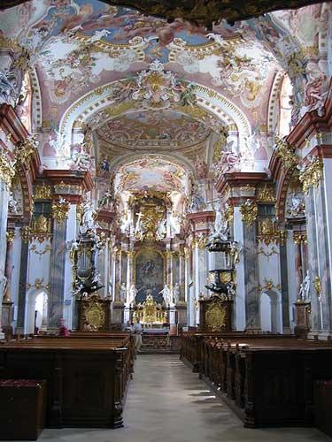 Iglesia de la Abadía Wilhering