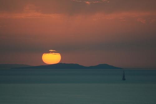 Las mejores puestas de sol del mundo