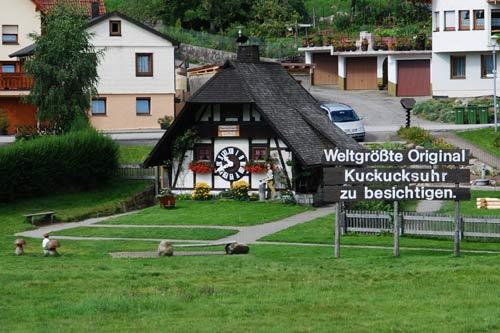Reloj de cuco en Schonach