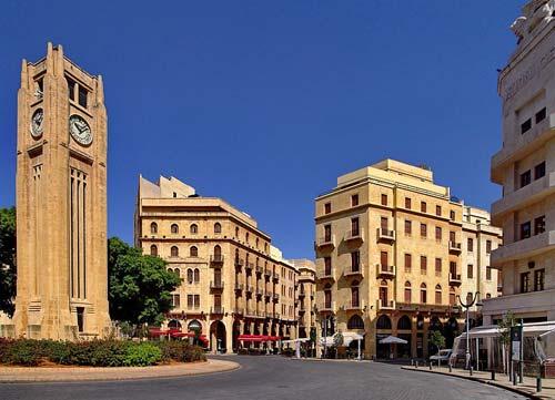 Baños Romanos Beirut: Beirut, pero también la zona que más sufrió los efectos de la